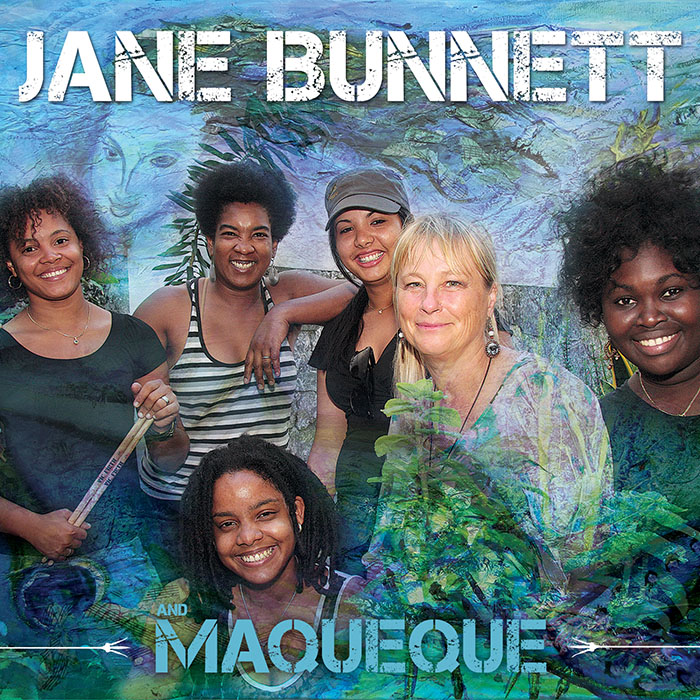 Jane Bunnett and Maqueque CD Cover
